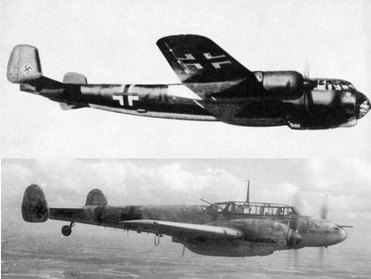 Dornier and Bf110