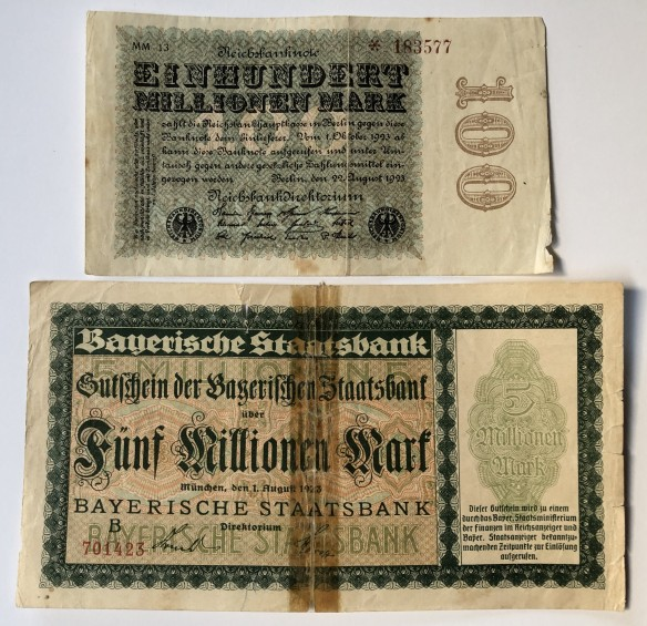 German money Moosburg