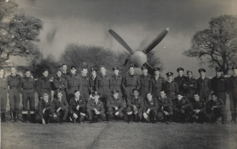 132 Squadron line up Dec 1943