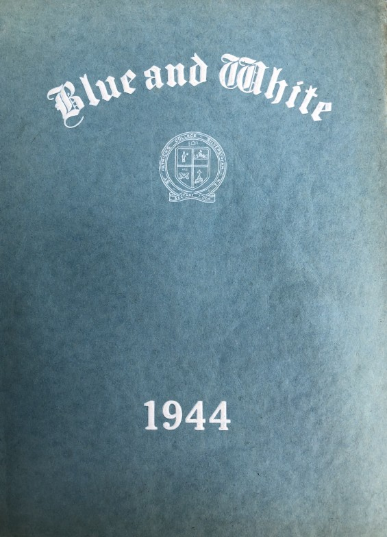 Blue and White cover 1944