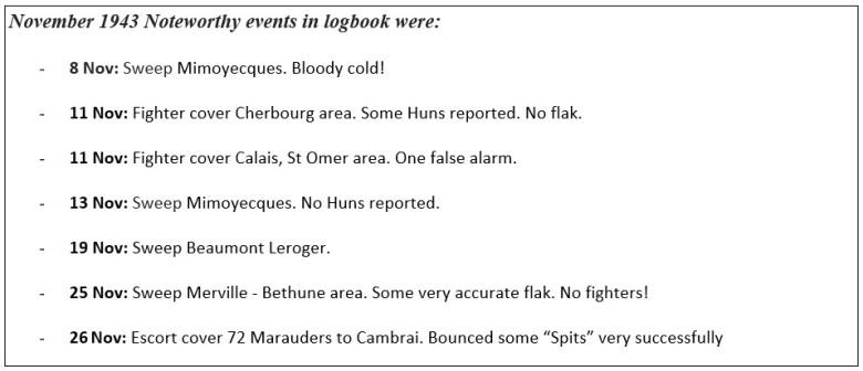 logbook Nov 43