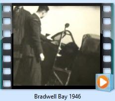 Bradwell bay 1946 clip