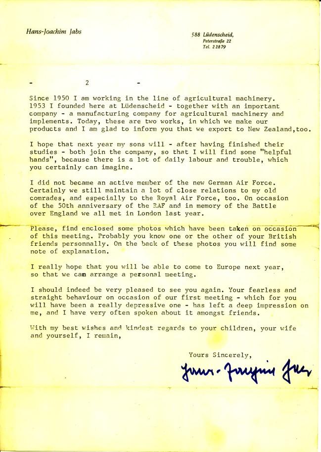 Jabs letter 2