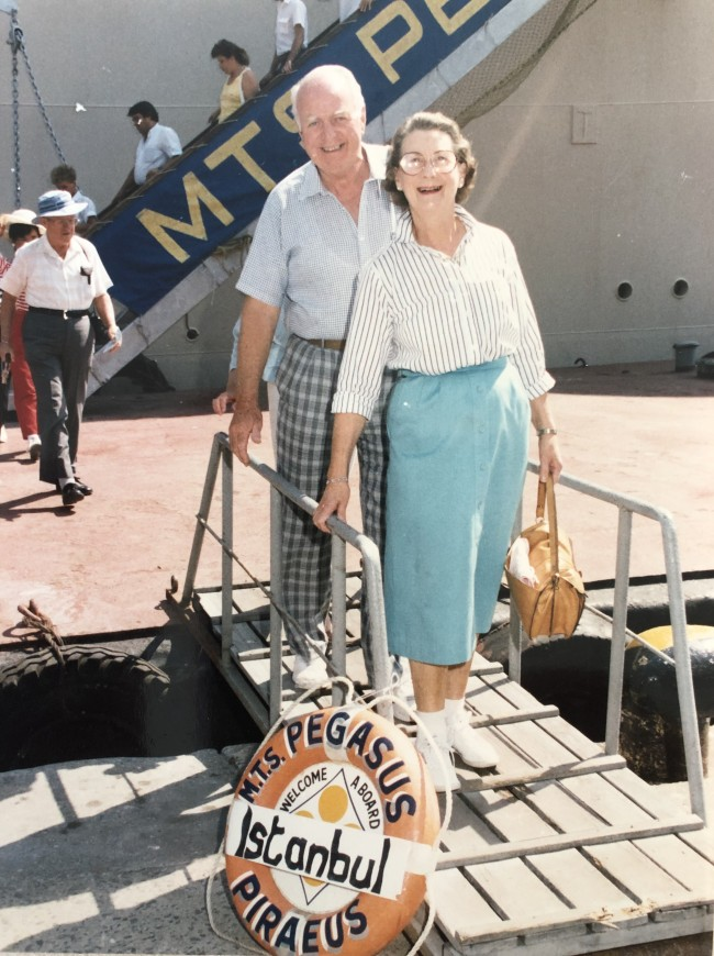 John and Marie travelling